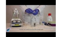 How to Prepare No Solvent Method Calibration Solutions - Video