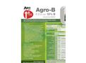 Agro- - Model B- (4-0-0 With 10% B) - Liquid Foliar Nutrient  Brochure