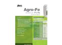 Agro-Fe - Foliar Nutrient (0-0-0 With 7% Fe) - Datasheet