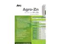 Agro-Zn - Foliar Nutrient (6-0-0 With 9% Zn) - Datasheet