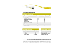 MicroEssentials - Model SZ - Proprietary Fertilizer Brochure