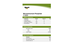 Model (MAP) 11-52-0 - Monoammonium Phosphate Brochure