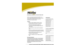 Nexfos - Monodicalcium Phosphate for Animal and Poultry Feed Brochure