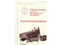 Pisces - Model PG Series - Shrimp Roller Graders