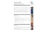 aquaTest-MO - Model P103 - Multiparameter Physicochemical and Organic Matter Equipment  Brochure