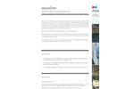 aquaDam - Dammed Water Quality Monitoring System Brochure