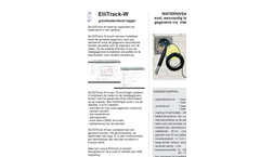 ElliTrack - Model W - Acoustic Groundwater Monitoring Loggers- Brochure