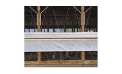 Model TD - Top Down Curtain Systems for Dairy Industry Ventilation
