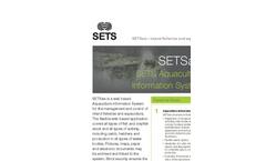 SETSais - Version - Aquaculture Information System Software Brochure
