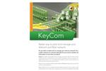 KeyAqua - Water and Sewage Utilities Network Information Software Brochure