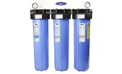 Crystal Quest - Model CQE-WH-01109A - Big Blue Whole House Water Filter
