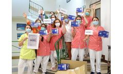 United against COVID-19, sending masks to nursing homes in France