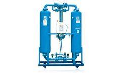 Denair - Externally Heated Purge Desiccant Air Dryer