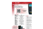 AEMC - Model 6681 - Cable Testers Brochure