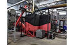 Continuous Pyrolysis Facility for biomass processing and electricity production (Ukraine, Kaharlyk)