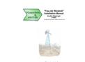 Double Diaphragm Windmill Manual