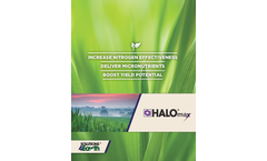 Halo Max - Nitrogen, Sulfur and Micronutrients - Brochure
