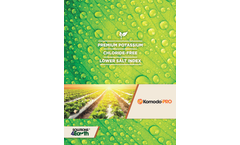 Komodo - Model Pro - Liquid Premium Potassium Fertilizer - Brochure