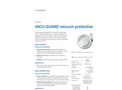 GE - Model VACU-GUARD 150 - Vacuum Protection Filters - Brochure
