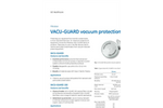 GE - Model VACU-GUARD 150 - Vacuum Protection Filters - Brochure