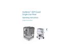 Xcellerex XDM Quad Single-Use Mixer Operating Instructions - Manual