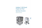 Xcellerex XDM Quad Single-Use Mixer Operating Instructions - Manual