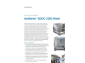 Xcellerex XDUO 2500 Mixer - Datasheet