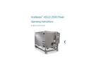 Xcellerex XDUO 2500 Mixer Operating Instructions - User Manual