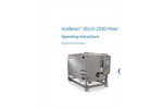 Xcellerex XDUO 2500 Mixer Operating Instructions - User Manual