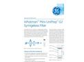 GE Whatman - Model Mini-UniPrep G2 - Hand Compressor - Brochure