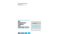 The Groundwater Both Courses - Brochure