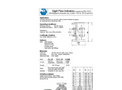 Model Type N880 - Flow Sight Glasses - Datasheet