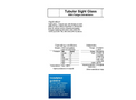 ACI - Model Type 620 - Tubular Flow Sight Glass Brochure