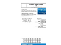 Model Type 319 - PN 6 - Circular Sight Glass Fittings - Datasheet