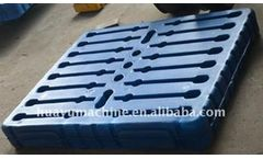 Huayu - Model 1000L - HDPE Machine for Pallet