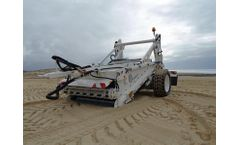 Canicas - Model T 170  - Large Beach Cleaner