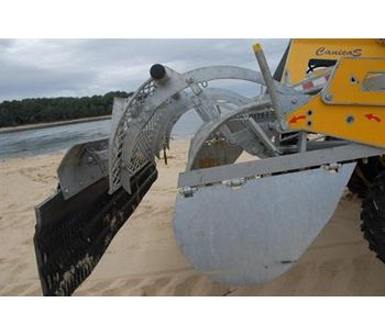Canicas - Model G 250 L - Beach Cleaning Rake