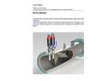 Statiflo - Model Series 600/650 - Water Treatment Static Mixer