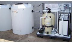 Marina - Model CL500BF - Portable Closed Loop Pressure Wash Wastewater Recycle System