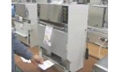 This Titan 575 Semi-Automatic Pre-Opened Bags on Roll Machine- Video