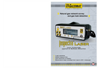 Inspectra - Natural Gas Leak Laser Portable Analyzer - Brochure