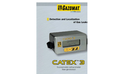 CATEX - Model 3 - Gas Detection Device Brochure