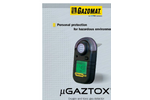 µGaztox - Oxygen and Toxic Gas Detector Brochure