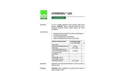 HYDROGEL 125 For Use in Drilling Operations - Brochure