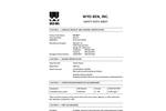 SW-101 Contamination Resistant Bentonite - Safety Data Sheet