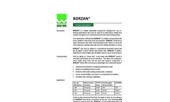 BORZAN Dispersible Biopolymer - Brochure
