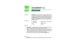Solidibond 1.1 Mineral Based Super Absorbent Polymer Blend - Brochure