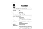 SOLIDIBOND 2.2 Absorbent / Polymer Blend - Safety Data Sheet