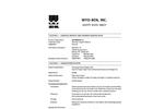 SOLIDIBOND 1.1 Mineral Based Super Absorbent Polymer Blend - Safety Data Sheet