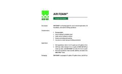 AIR FOAM Foaming Agent - Brochure